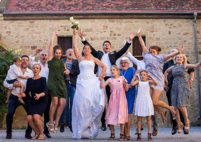Hochzeitsfotos in Stuttgart Familienfoto like a boss