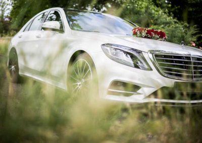 Hochzeitsfotograf in Stuttgart und Umgebung Hochzeitsauto Mercedes