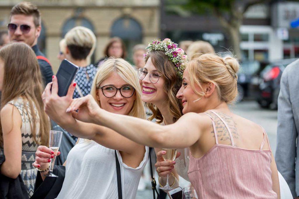 Heiraten in Stuttgart Hochzeitsbilder Selfie