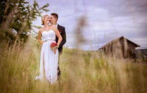 Hochzeitsfotos in Stuttgart Vintage im Feld