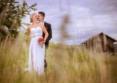Hochzeitsfotos in Stuttgart Shooting im Feld