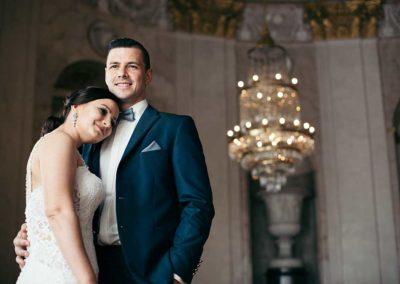 Hochzeitsfotos in Stuttgart Shooting in einem großen Schloss