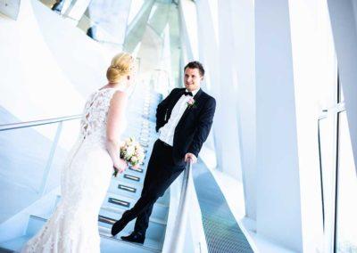 Hochzeitsfotos in Stuttgart Shooting im Mercedes Benz Museum Stuttgart