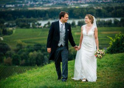 Hochzeitsfotos in Stuttgart Shooting im Flusspanorama im Weinberg