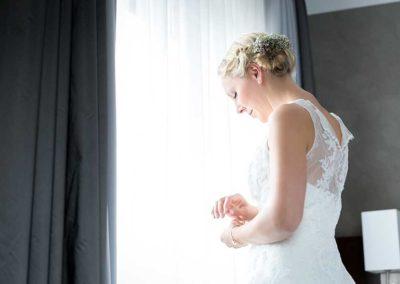 Hochzeitsfotos in Stuttgart getting ready im Hotel