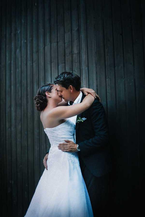 Hochzeitsfotograf in Stuttgart und Umgebung Hochzeitskuss
